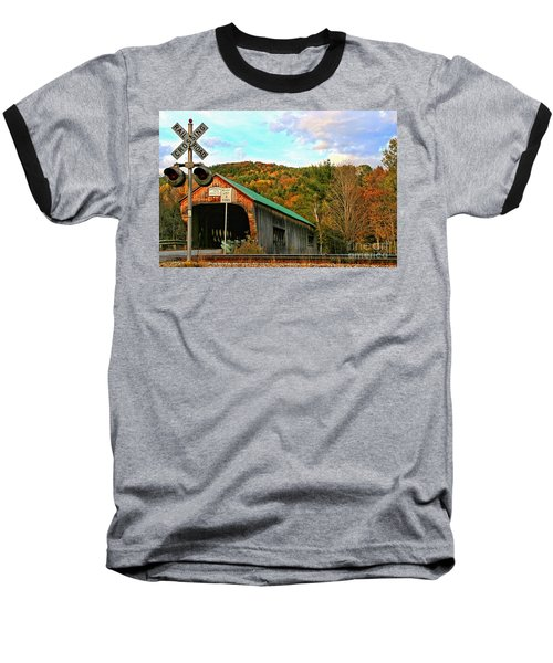 Baseball T-Shirt featuring the photograph Last Days by DJ Florek