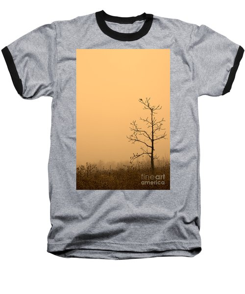 Last Leaves Baseball T-Shirt