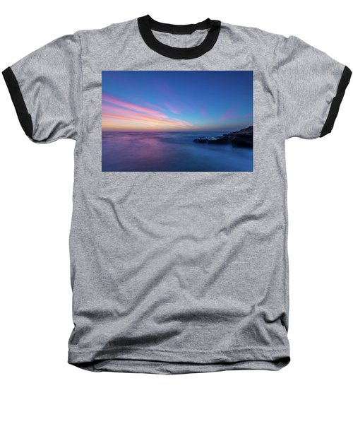 Last Light In April, Sunset Clifs Baseball T-Shirt