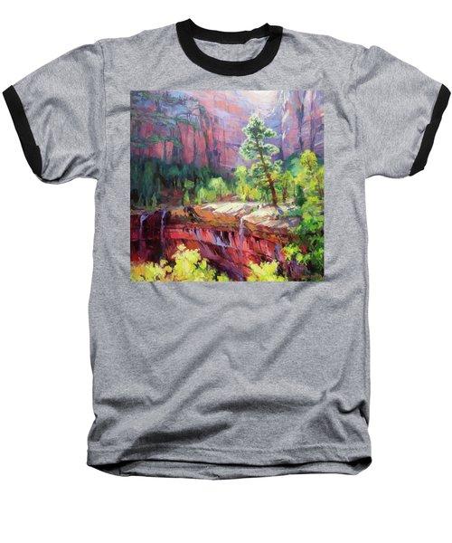 Last Light In Zion Baseball T-Shirt