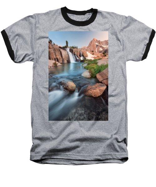 Last Light Baseball T-Shirt by Nicki Frates