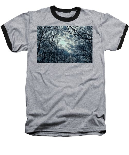 Baseball T-Shirt featuring the photograph Last Light by Sandy Moulder