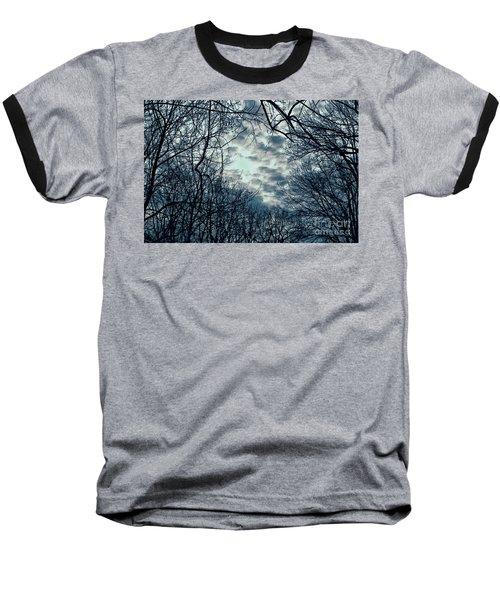 Last Light Baseball T-Shirt by Sandy Moulder