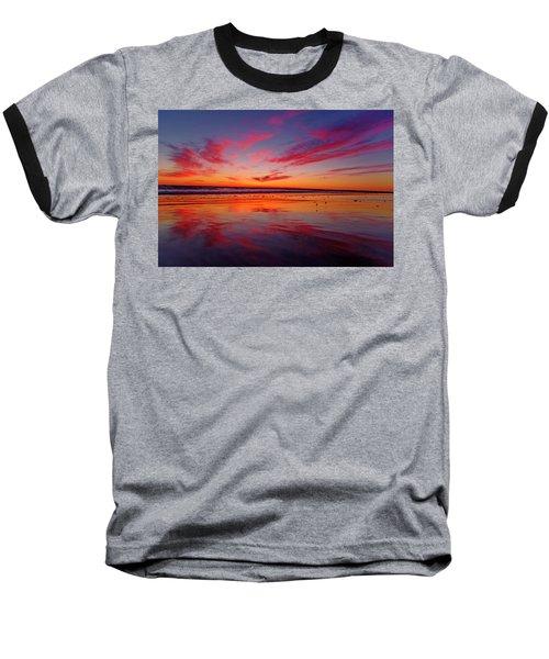 Last Light Topsail Beach Baseball T-Shirt