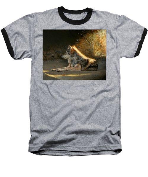Last Light - Wolf Baseball T-Shirt