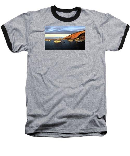 Baseball T-Shirt featuring the photograph Last Rays At The Bay by Nareeta Martin
