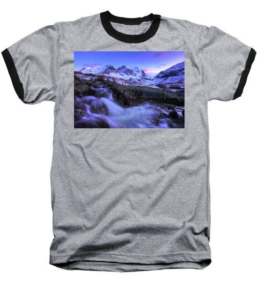 Last Rays On Andromeda Baseball T-Shirt by Dan Jurak