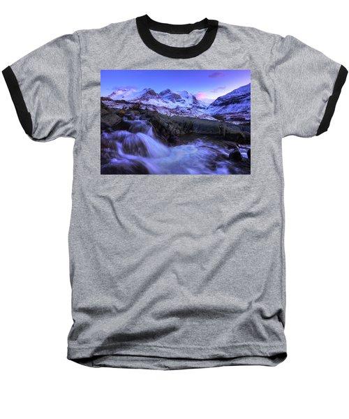 Baseball T-Shirt featuring the photograph Last Rays On Andromeda by Dan Jurak