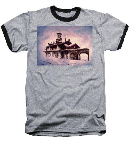 Last Stop Blues... Baseball T-Shirt