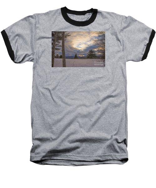 Last Sunset Of 2015 Baseball T-Shirt by Alana Ranney