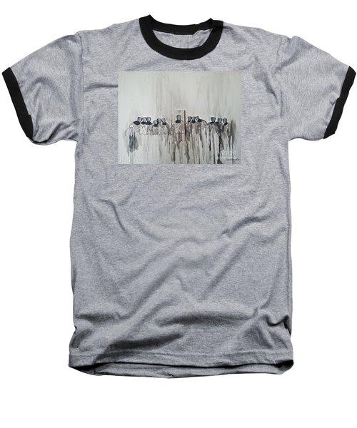 Last Supper Baseball T-Shirt