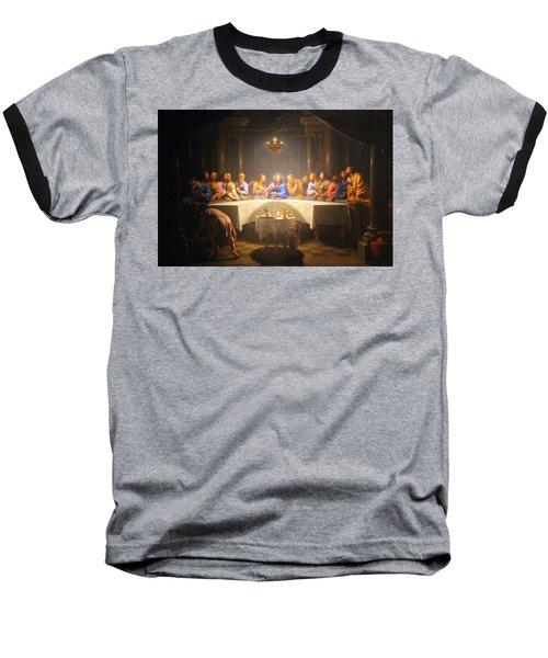 Last Supper Meeting Baseball T-Shirt