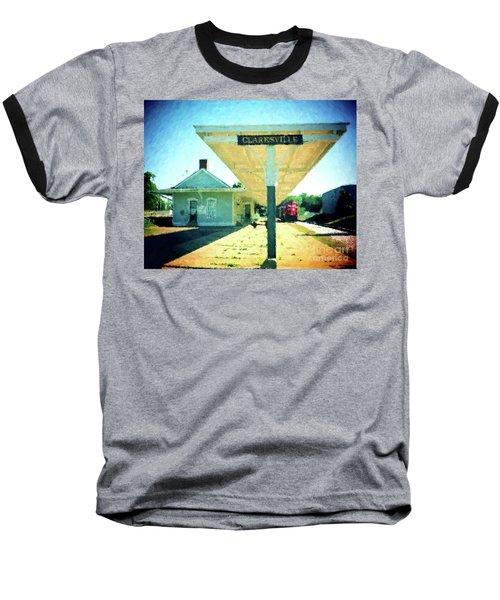 Last Train To Clarksville Baseball T-Shirt
