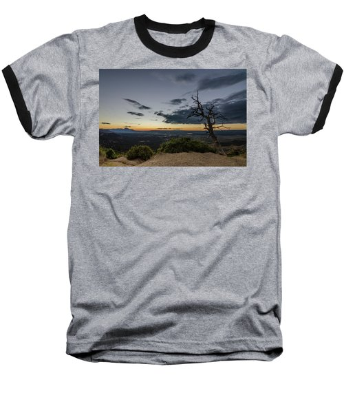 Baseball T-Shirt featuring the photograph Last Tree Standing by Margaret Pitcher