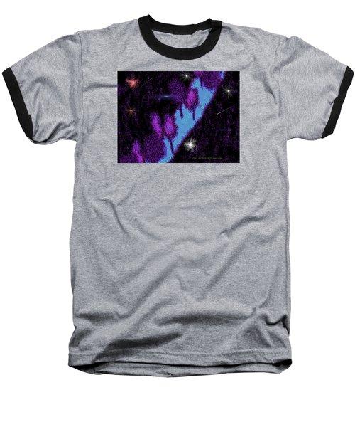 Last Way Baseball T-Shirt by Dr Loifer Vladimir