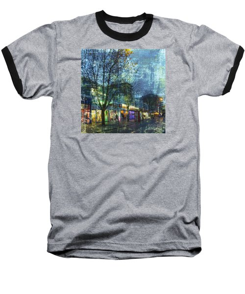 Late Afternoon In Autumn Baseball T-Shirt by LemonArt Photography