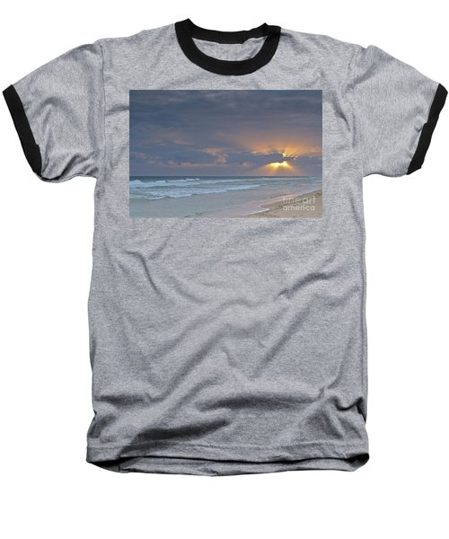 Late Afternoon In Ilha Deserta. Algarve Baseball T-Shirt