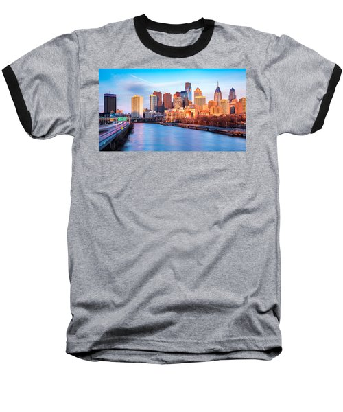 Late Afternoon In Philadelphia Baseball T-Shirt