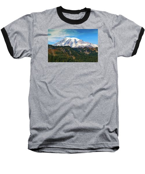 Baseball T-Shirt featuring the photograph Late Afternoon by Lynn Hopwood