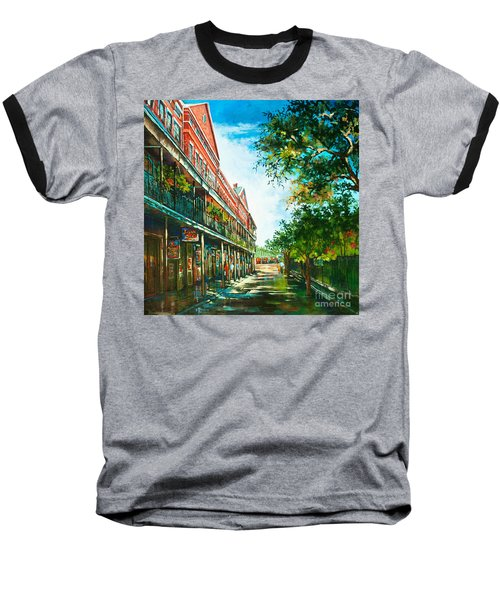 Late Afternoon On The Square Baseball T-Shirt