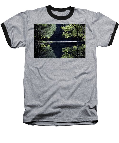 Late Afternoon Reflection Baseball T-Shirt
