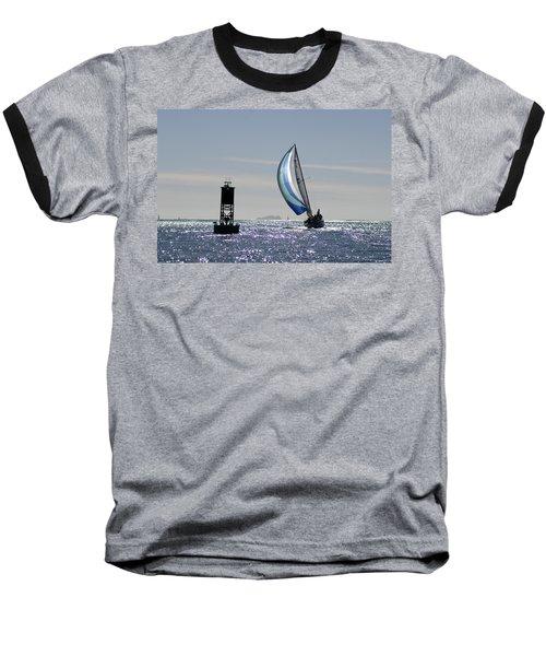 Late Afternoon Sail Baseball T-Shirt