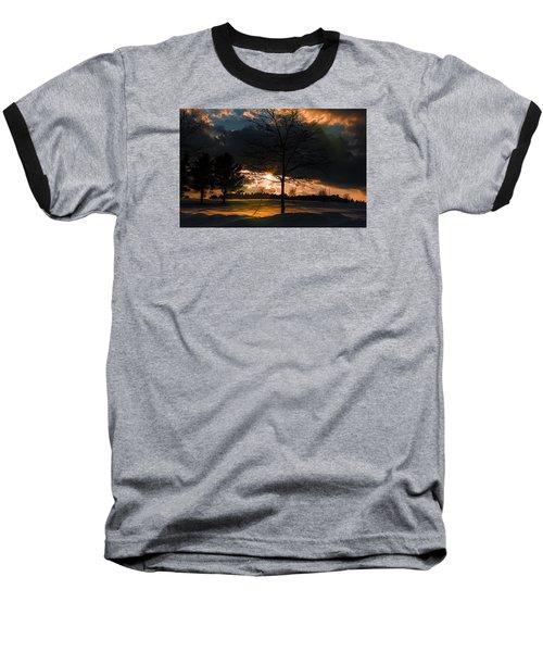 Late Afternoon Sun Baseball T-Shirt