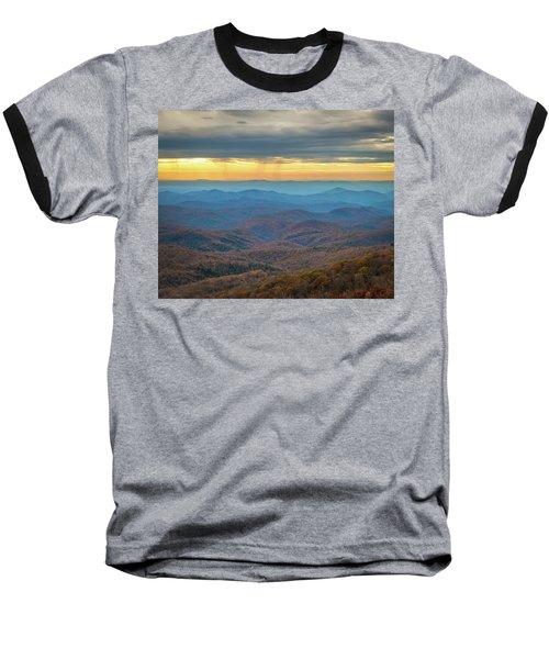 Late Autumn Vista Baseball T-Shirt