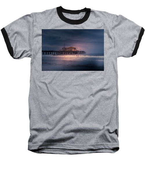 Late Evening Swim Baseball T-Shirt