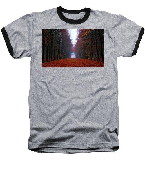 Late Fall Forest Baseball T-Shirt
