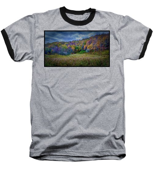 Late Fall On Green Knob Trail Baseball T-Shirt