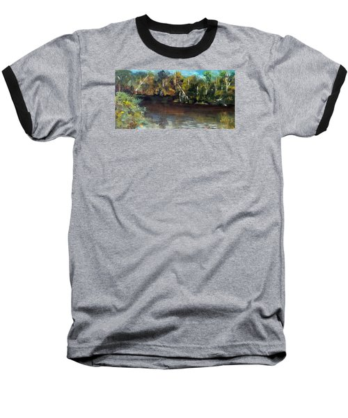 late in the Day on Blue Creek Baseball T-Shirt