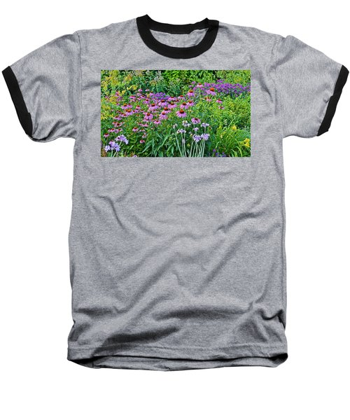 Late July Garden 2 Baseball T-Shirt
