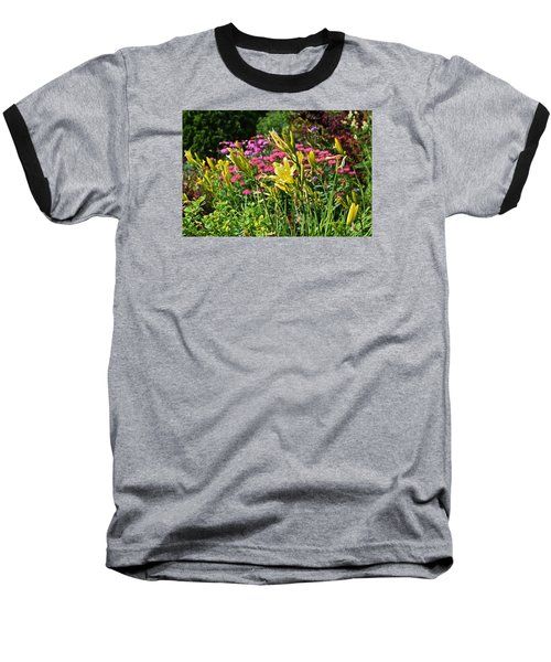 Late July Garden 1 Baseball T-Shirt