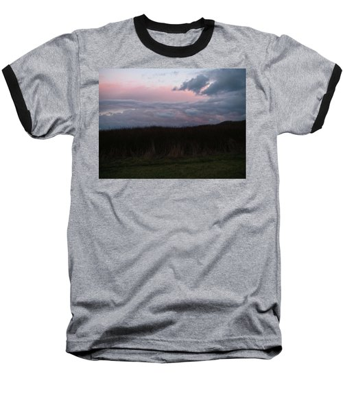 Late Light Baseball T-Shirt by Laurie Stewart