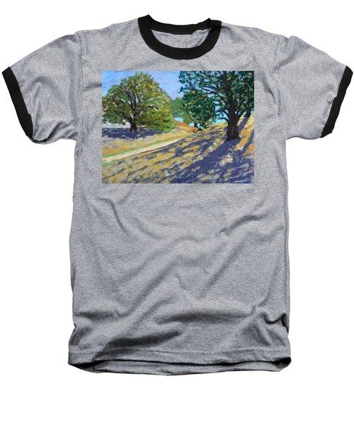 Late Light's Shadows Baseball T-Shirt