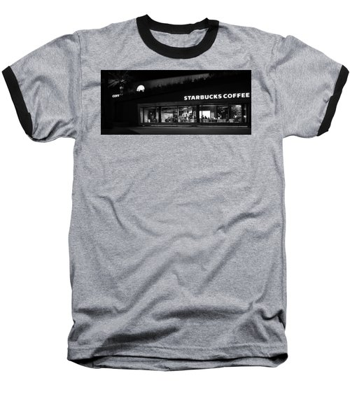 Baseball T-Shirt featuring the photograph Late Night At The Bucs by David Lee Thompson