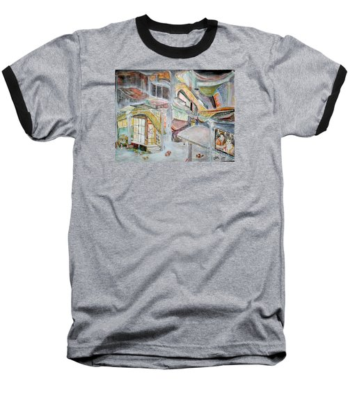 The Infamous City Corner At Midnight Baseball T-Shirt