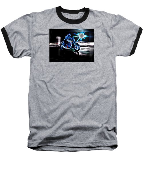 Late Night Street Racing Baseball T-Shirt