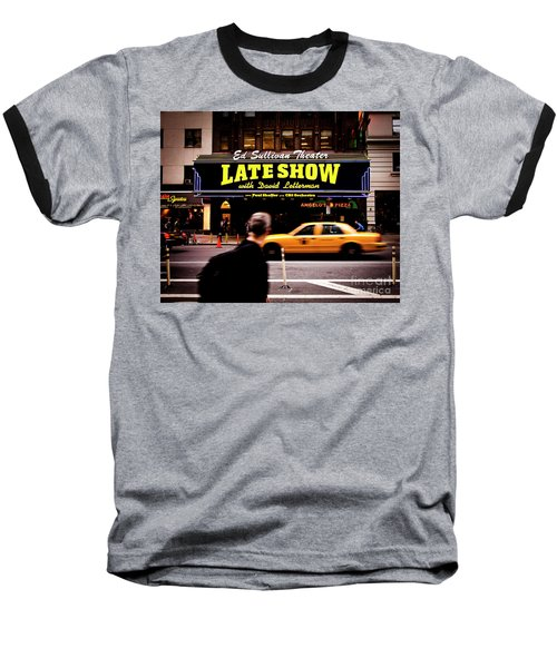 Late Show Baseball T-Shirt