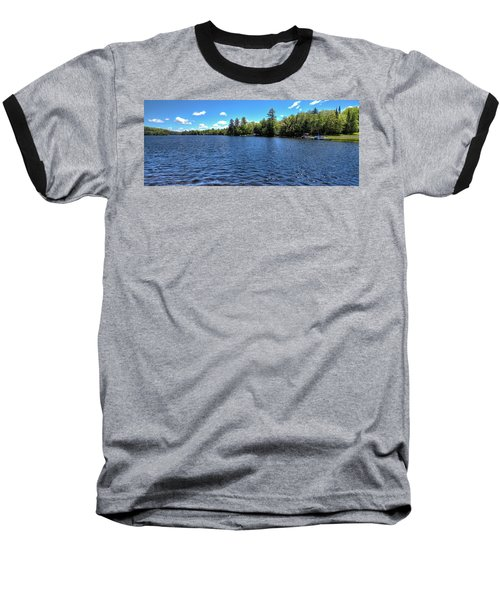 Late Spring On 6th Lake Baseball T-Shirt