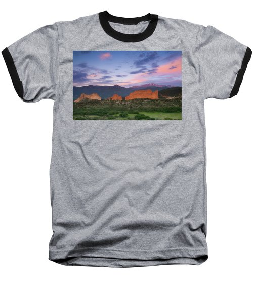 Late Spring Sunrise Baseball T-Shirt