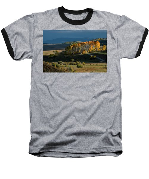 Baseball T-Shirt featuring the photograph Late Stand by Dana Sohr