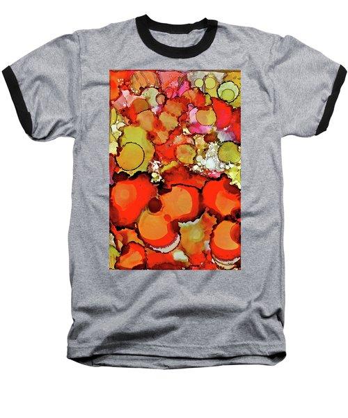Late Summer Flowers Baseball T-Shirt