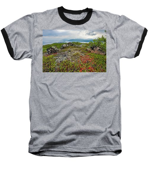 Baseball T-Shirt featuring the photograph Late Summer In The North by Maciej Markiewicz