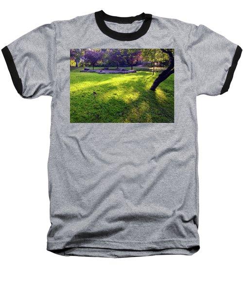 Late Summer Light Baseball T-Shirt