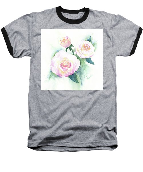 Late Summer Roses Baseball T-Shirt