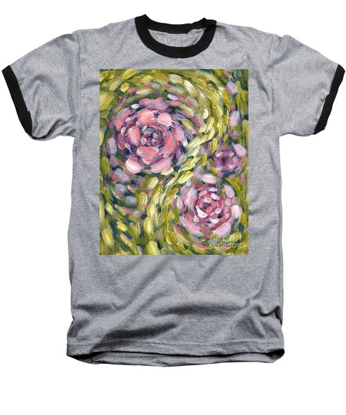 Baseball T-Shirt featuring the digital art Late Summer Whirl by Holly Carmichael