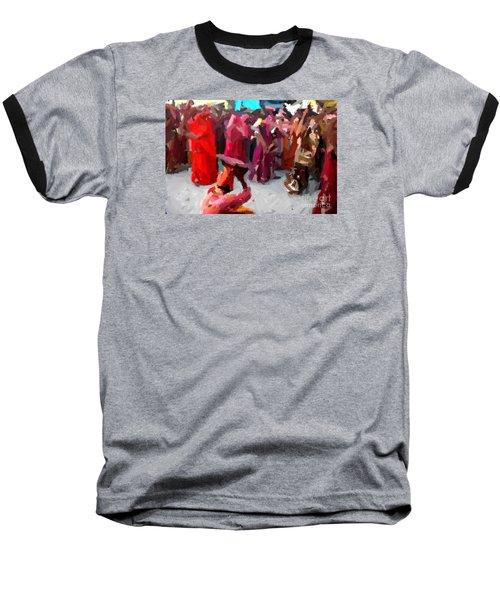 Lathmaar Holi Of Barsana-2 Baseball T-Shirt