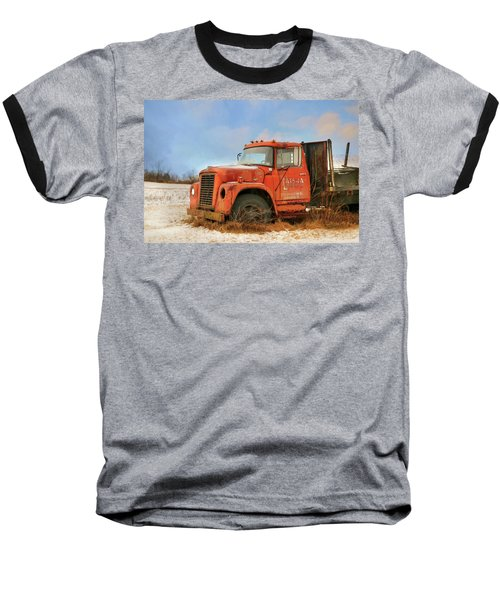 Baseball T-Shirt featuring the photograph Latsha Lumber Truck by Lori Deiter